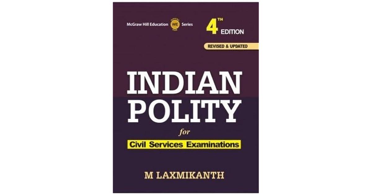 M Laxmikanth Book