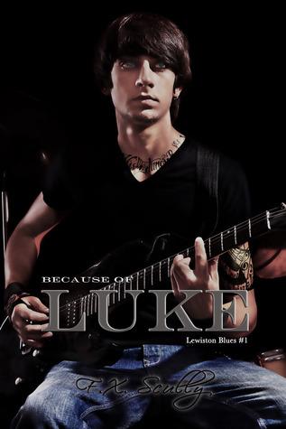 Because of Luke (Lewiston Blues/Black Family Saga, #1)