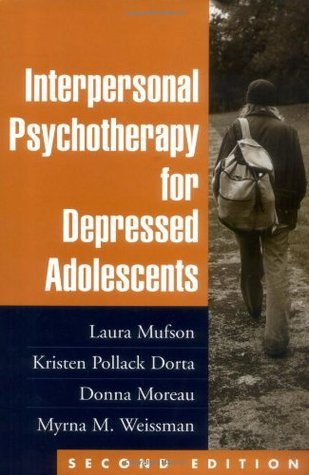 interpersonal psychotherapy for depression - myrna m  weissman phd