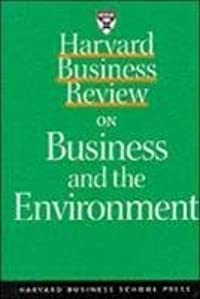 Harvard Business Review on Green Business