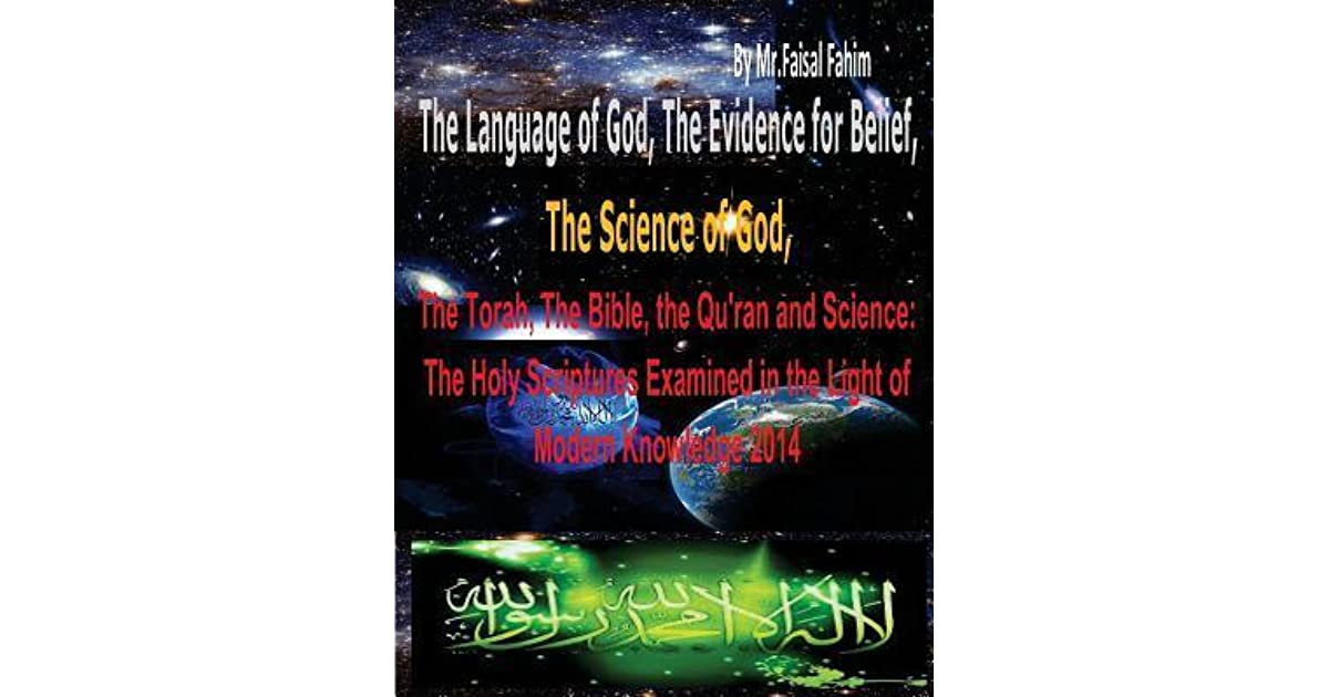 The Language Of God The Evidence For Belief The Science Of God
