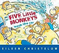 Five Little Monkeys Wash The Car Book