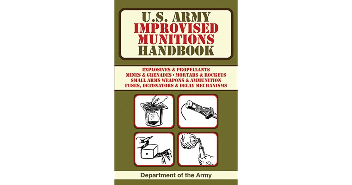 Improvised Munitions Handbook Pdf