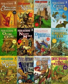 Early Xanth Series (#1-12) by Piers Anthony