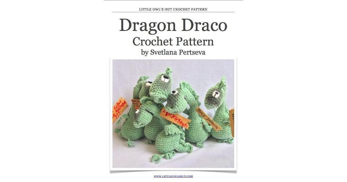 Dragon Crochet Pattern. Amigurumi toy by Svetlana Pertseva