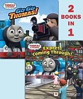 Go Go Thomas!/Express Coming Through! (Thomas & Friends) (Deluxe Pictureback)