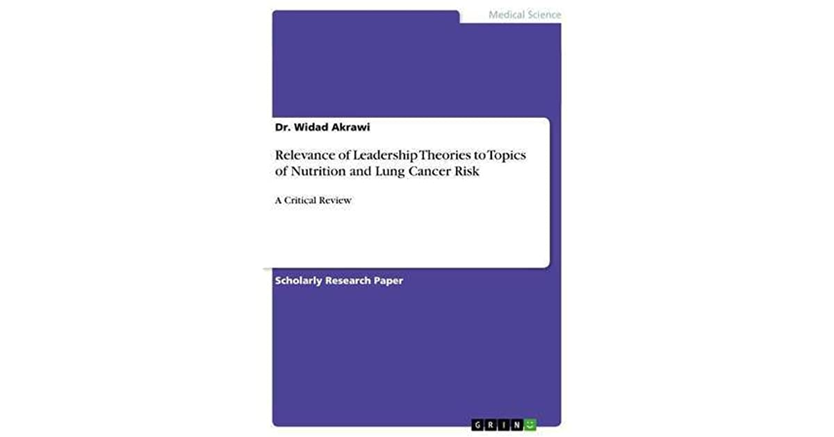 Relevance of Leadership Theories to