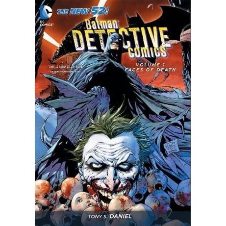 2011 1-7 BATMAN DETECTIVE COMICS VOLUME 1 FACES OF DEATH GRAPHIC NOVEL Collect