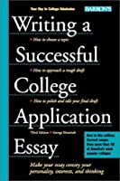 Professionally writing college admissions essay by george ehrenhaft