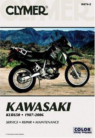 Kawasaki Klr650 1987-2006: Service, Repair, Maintenance (Clymer Motorcycle Repair)