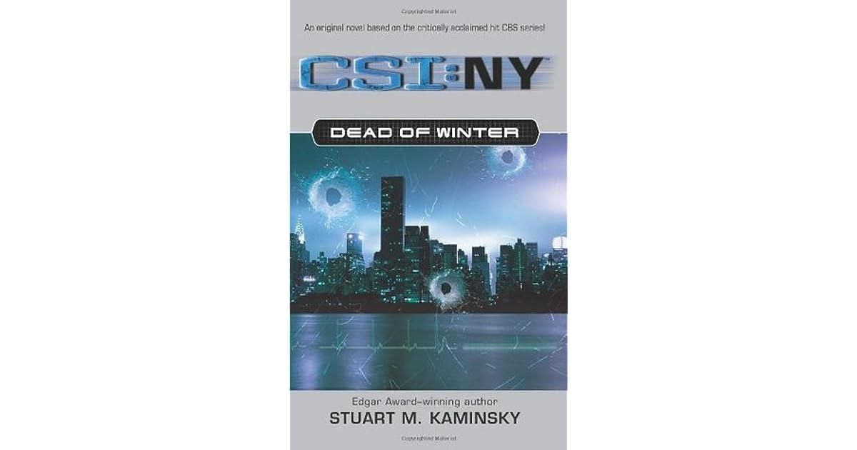 Dead of winter csi new york 1 by stuart m kaminsky fandeluxe Document