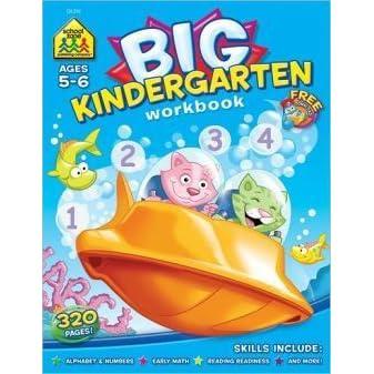Big Kindergarten Workbook By School Zone