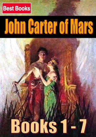John Carter of Mars ( Books 1 - 7 ) ( Science fiction ) [with Active Table of Contents] [Illustrated] [Free Audio Links]