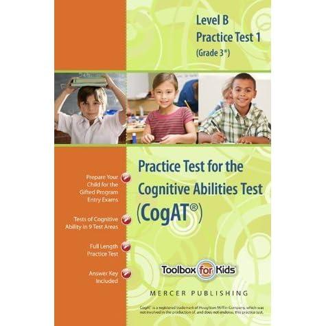 Cognitive Abilities Test Cogat Multilevel B Book Grade 3