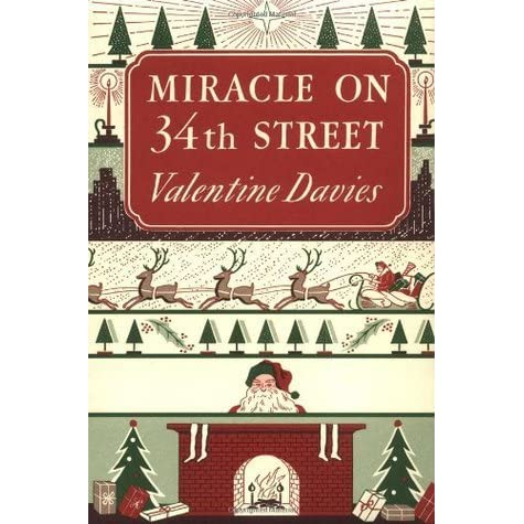 Image result for miracle on 34th street book