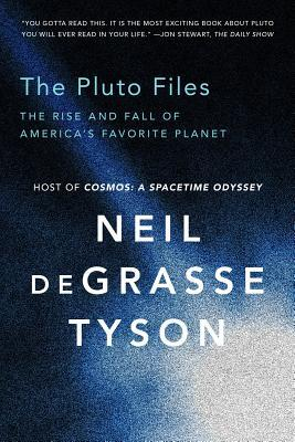 book cover for The Pluto Files