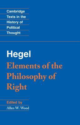 Elements of the Philosophy of Right
