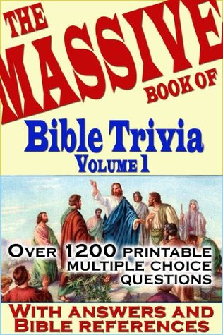 photograph about Printable Kjv Bible Trivia Questions and Answers titled The Mive E book of Bible Trivia, Amount of money 1: 1,200 Bible