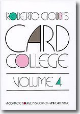 Card College Volume 4