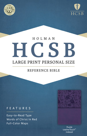 HCSB Large Print Personal Size Bible by Anonymous