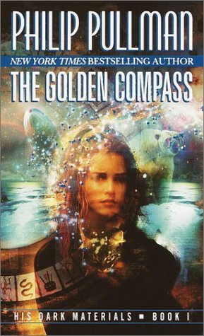 "Book cover of ""The Golden Compass"" by Philip Pullman"