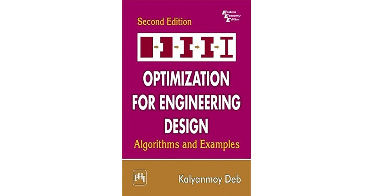 Optimization For Engineering Design By Kalyanmoy Deb Pdf