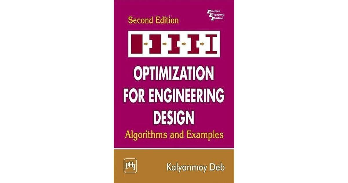 Optimization For Engineering Design By Kalyanmoy Deb Pdf