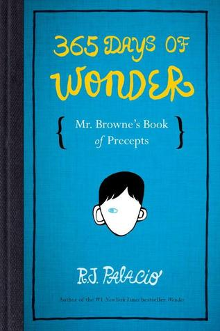 365 Days of Wonder by R.J. Palacio