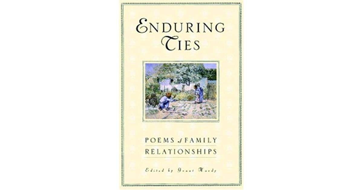 Enduring Ties: Poems of Family Relationships by Grant Hardy