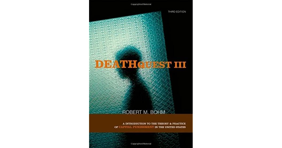 an introduction to capital punishment in the united states Deathquest : an introduction to the theory and practice of capital punishment in the united states by bohm, robert m.