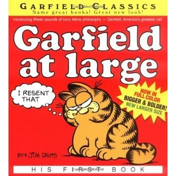 Garfield At Large His First Book Garfield 1 By Jim Davis