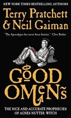 Book cover for Good Omens: The Nice and Accurate Prophecies of Agnes Nutter, Witch by Terry Pratchett and Neil Gaiman