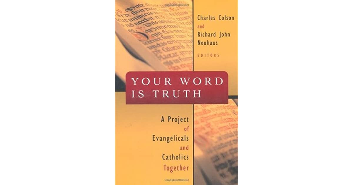 your word is truth