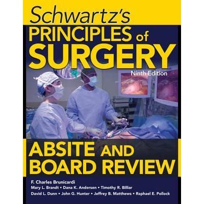 Schwartz Principles Of Surgery Pdf