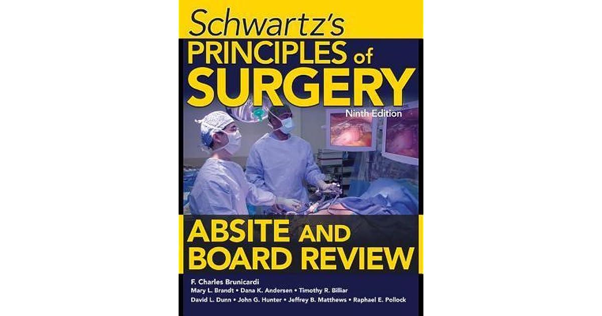 Ebook schwartz surgery