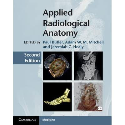 Applied Radiological Anatomy By Paul Butler