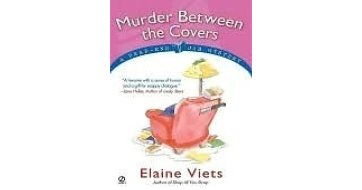 Murder Between the Covers by Elaine Viets