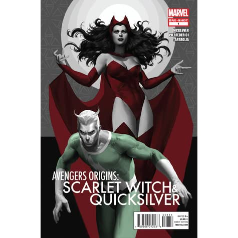 Avengers Origins: Scarlet Witch & Quicksilver by Sean McKeever