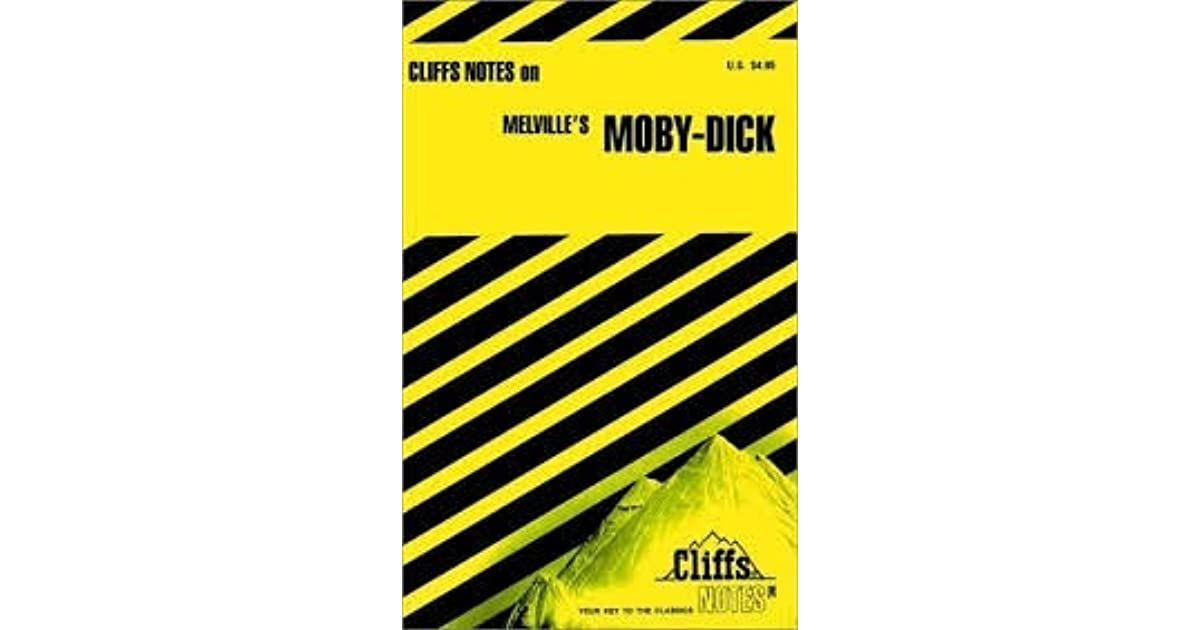 CliffsNotes on Melvilles\'s Moby-Dick by James Lamar Roberts