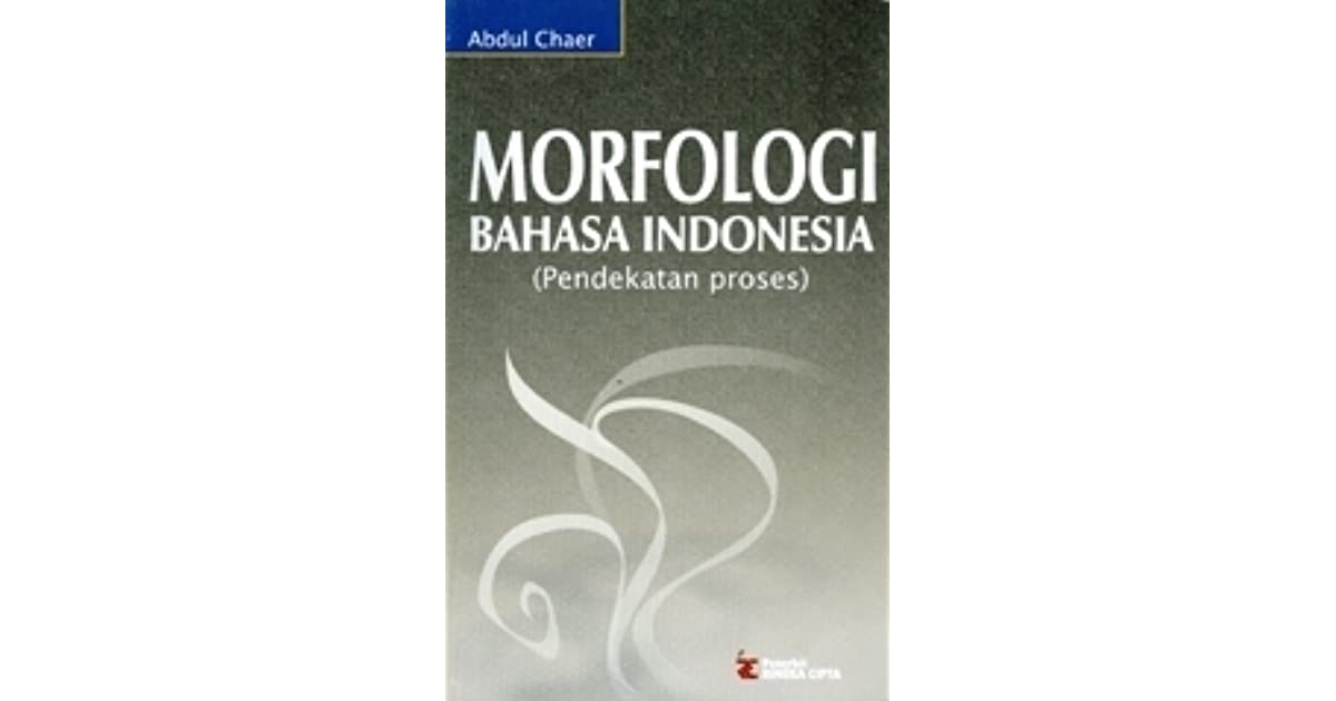 Ebook Morfologi Bahasa Indonesia