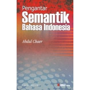 Ebook Semantik Bahasa Indonesia