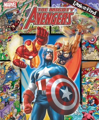 The Mighty Avengers: Look and Find