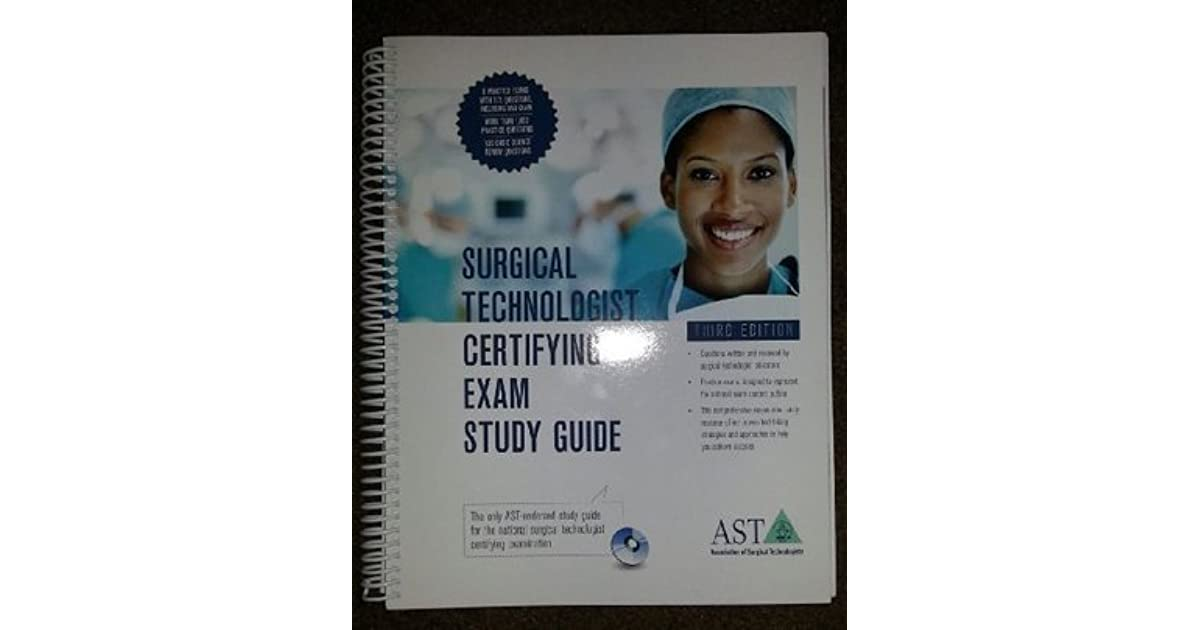 surgical technologist exam certifying study editions