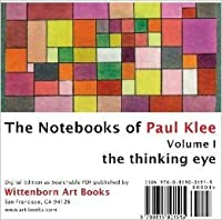 The Thinking Eye:  The Notebooks of Paul Klee. Volume 1 CD-ROM