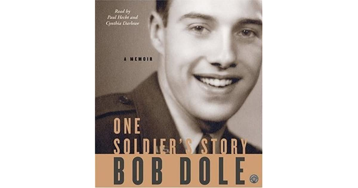 One Soldiers Story Cd A Memoir By Bob Dole 2 Star Ratings