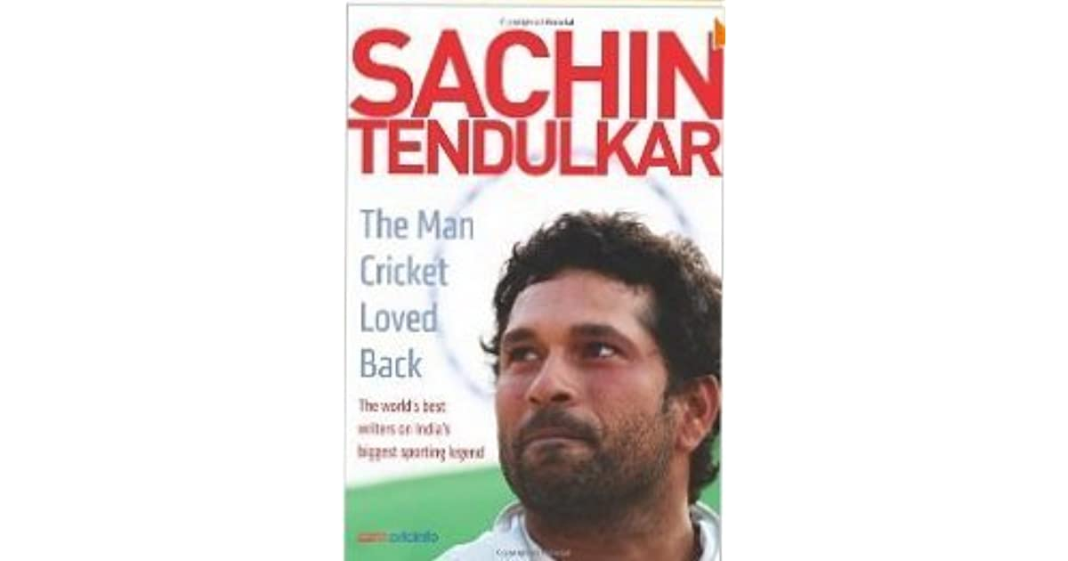 Sachin Tendulkar New Book