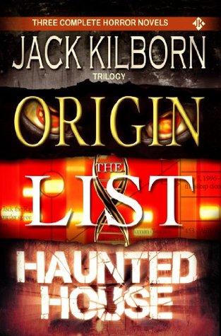 J.A. Konrath Horror Trilogy - Three Scary Thriller Novels (Origin, The List, Haunted House)