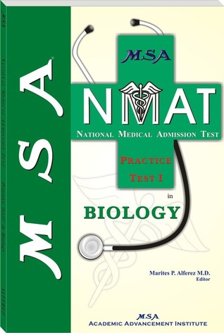 MSA NMAT Practice Test I in Biology by Marites P  Alferez