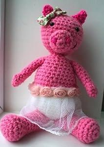 Crochet pattern amigurumi pig doll (48)
