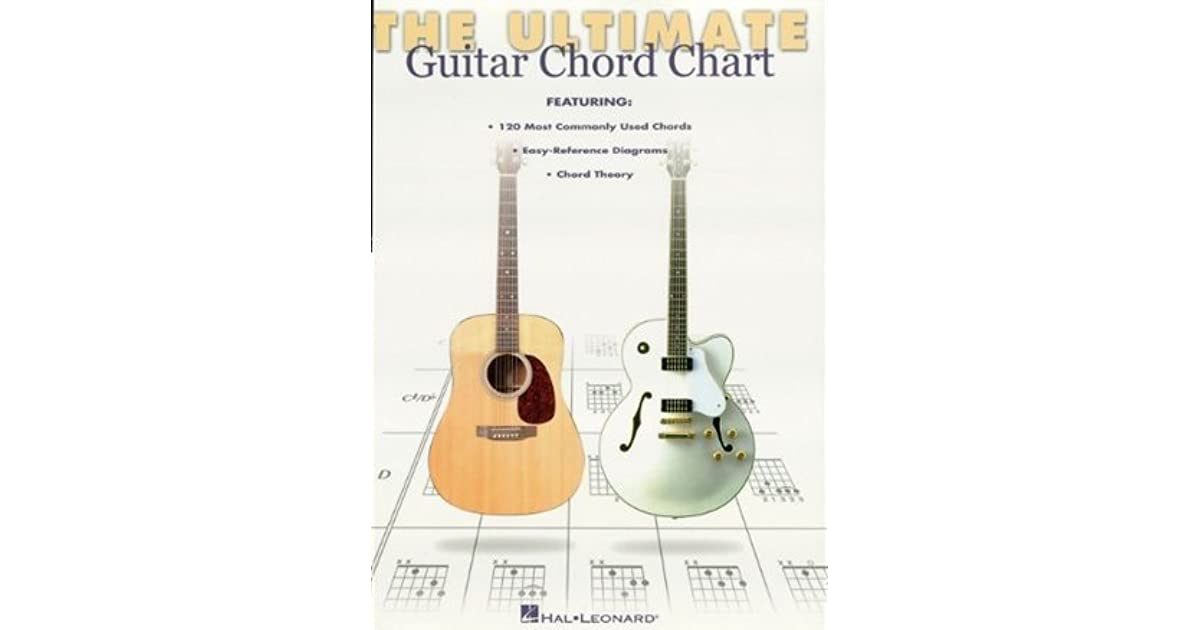 Ultimate Guitar Chord Chart by Hal Leonard Publishing Company